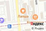 Схема проезда до компании Танго в Омске