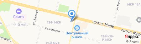 Охотник на карте Сургута