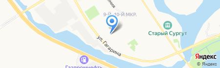 Молодость на карте Сургута