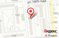 Схема проезда до компании Кассиопея в Омске