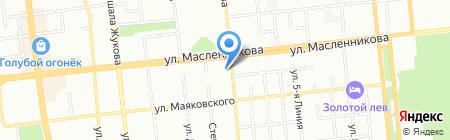 Школа ногтевого дизайна Екатерины Мирошниченко на карте Омска