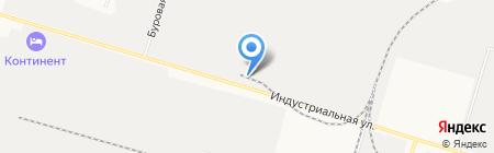 Техкомплекс-Хозторг на карте Сургута