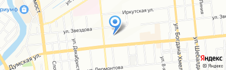 Детский сад №96 на карте Омска