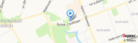 Общественная приемная депутата Тюменской областной Думы Селюкова М.В. на карте Сургута