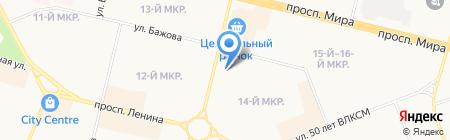Сургутская школа изучения иностранных языков на карте Сургута