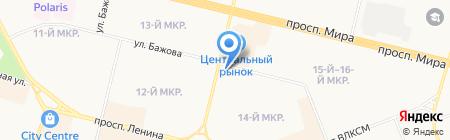 Запсибснабкомплект на карте Сургута