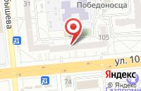 Схема проезда до компании БрэндБук в Омске