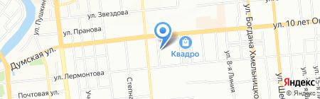 Экорам на карте Омска