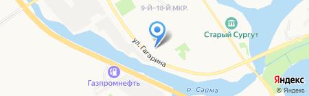 Лучший выбор на карте Сургута