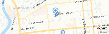 Кудряшка Сью на карте Омска