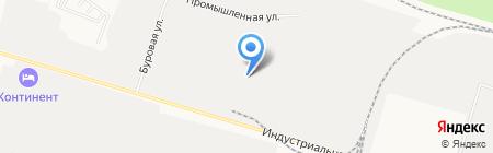 Евролес на карте Сургута