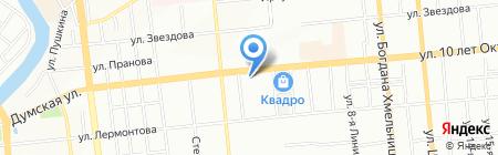 Банкомат АК БАРС БАНК на карте Омска