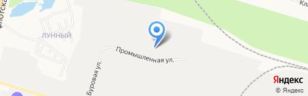 Северавтодор дорожно-ремонтное на карте Сургута