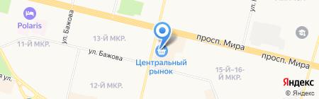 Ленд-Авто на карте Сургута
