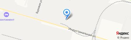 Магазин кормов для животных на карте Сургута