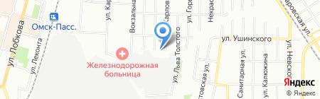 Экопром на карте Омска