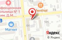 Схема проезда до компании Соточка в Омске