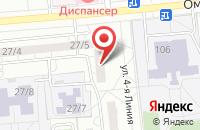 Схема проезда до компании Монолит в Омске