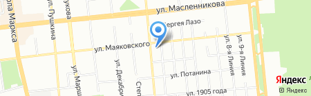 ТермоДизайн на карте Омска