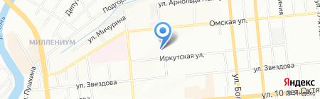 ГРАНАТ на карте Омска