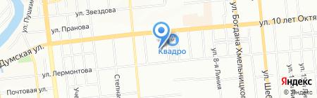 СОЮЗСНАБ на карте Омска