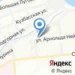 Банзай-Авто на карте Омска