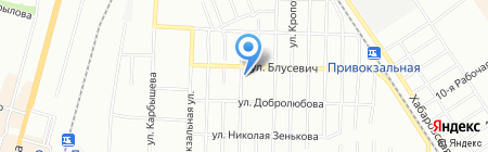 Универсальный на карте Омска