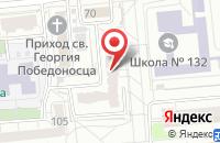 Схема проезда до компании Букхантер в Омске