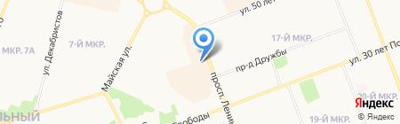 Джага-Джага на карте Сургута
