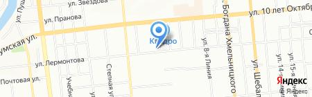 Фасадкерамика на карте Омска