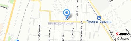 Почтовое отделение №5 на карте Омска