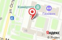 Схема проезда до компании Газпром переработка в Сургуте
