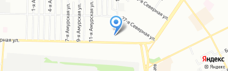 Пятница на карте Омска