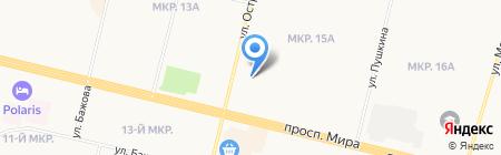 Эстрадно-джазовая школа вокала Снежаны Волкановой на карте Сургута