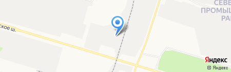 СТО на карте Сургута