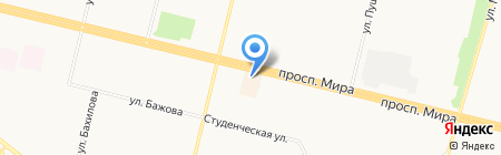 Диво на карте Сургута
