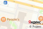Схема проезда до компании Saty в Сургуте