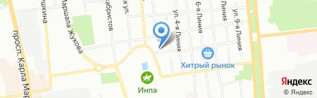 ОмМет-ТРАНС на карте Омска