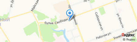 СИА-ПРЕСС ЦЕНТР на карте Сургута
