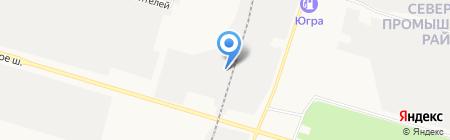 Тонир на карте Сургута