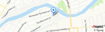 Milland на карте Омска