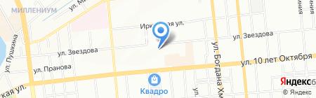 Средняя общеобразовательная школа №132 на карте Омска