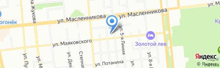 Платежный терминал КБ СДМ-БАНК на карте Омска