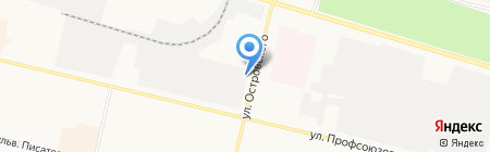 Самоделкин на карте Сургута