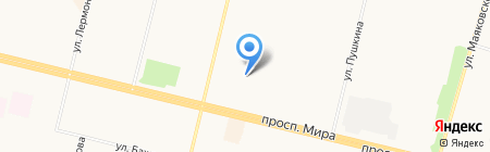 Газовик на карте Сургута
