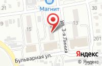 Схема проезда до компании Гуманитарный Центр «Инициатива» в Омске