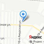 ТрансСиб на карте Омска