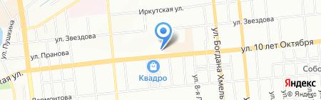 Линия Жизни на карте Омска