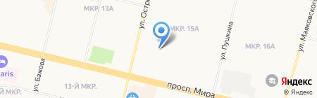 АВТОИМИДЖ на карте Сургута