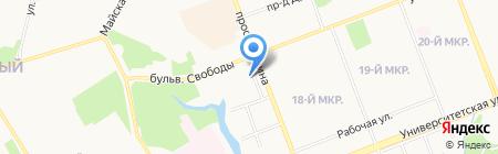 Кабинет ногтевого сервиса на карте Сургута